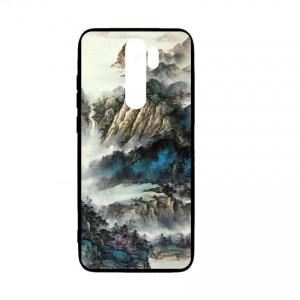 Ốp lưng kính in hình cho Xiaomi Redmi Note 8 Pro in hình Phong Cảnh (mẫu48) - Hàng chính hãng