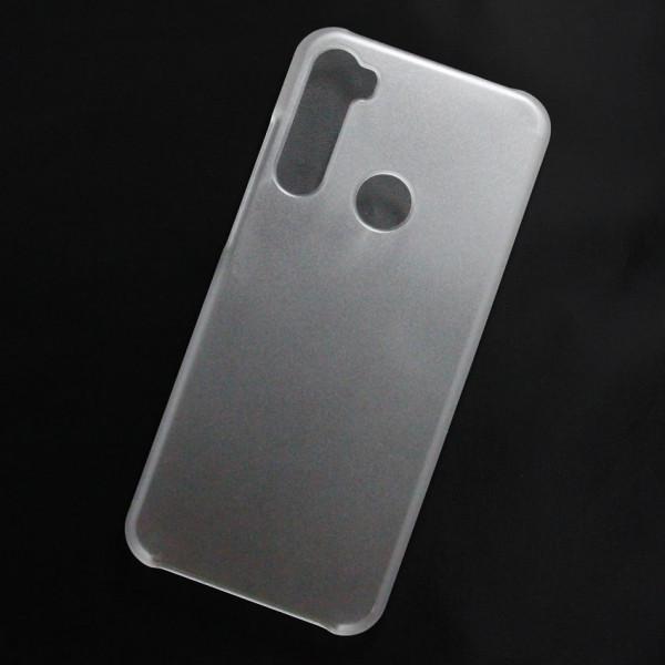 Ốp lưng nhựa cứng Xiaomi Redmi Note 8T nhám trong