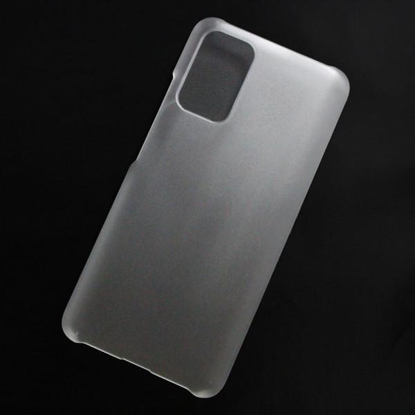 Ốp lưng nhựa cứng Xiaomi Redmi Note 9 4G, Redmi 9T 4G, Poco M3 nhám trong