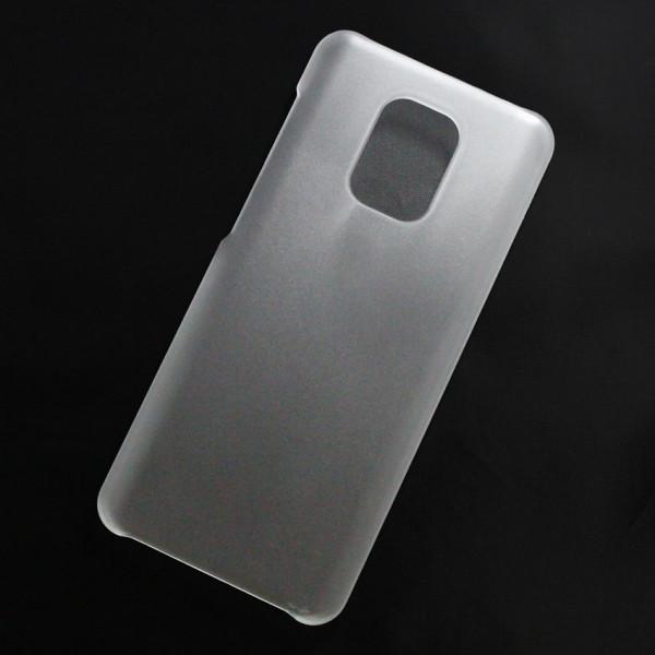 Ốp lưng nhựa cứng Xiaomi Redmi Note 9S, Note 9 Pro, Note 9 Pro Max nhám trong