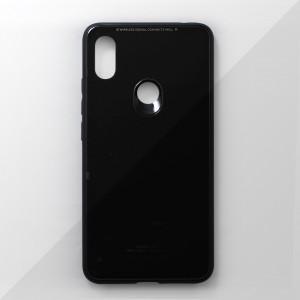 Ốp lưng Xiaomi Redmi S2 tráng gương viền dẻo (Đen)