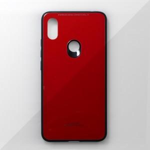 Ốp lưng Xiaomi Redmi S2 tráng gương viền dẻo (Đỏ)