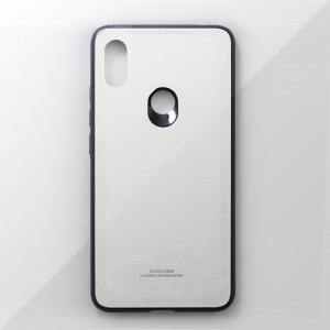 Ốp lưng Xiaomi Redmi S2 tráng gương viền dẻo (Trắng)