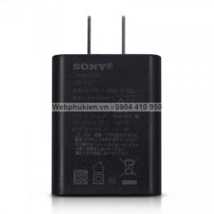 Cốc sạc Nhanh Sony UCH10 Zin chính hãng (chân dẹt) - Quick Charge 2.0