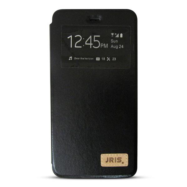 Bao da iPhone 6/6S hiệu JRIS (đen)