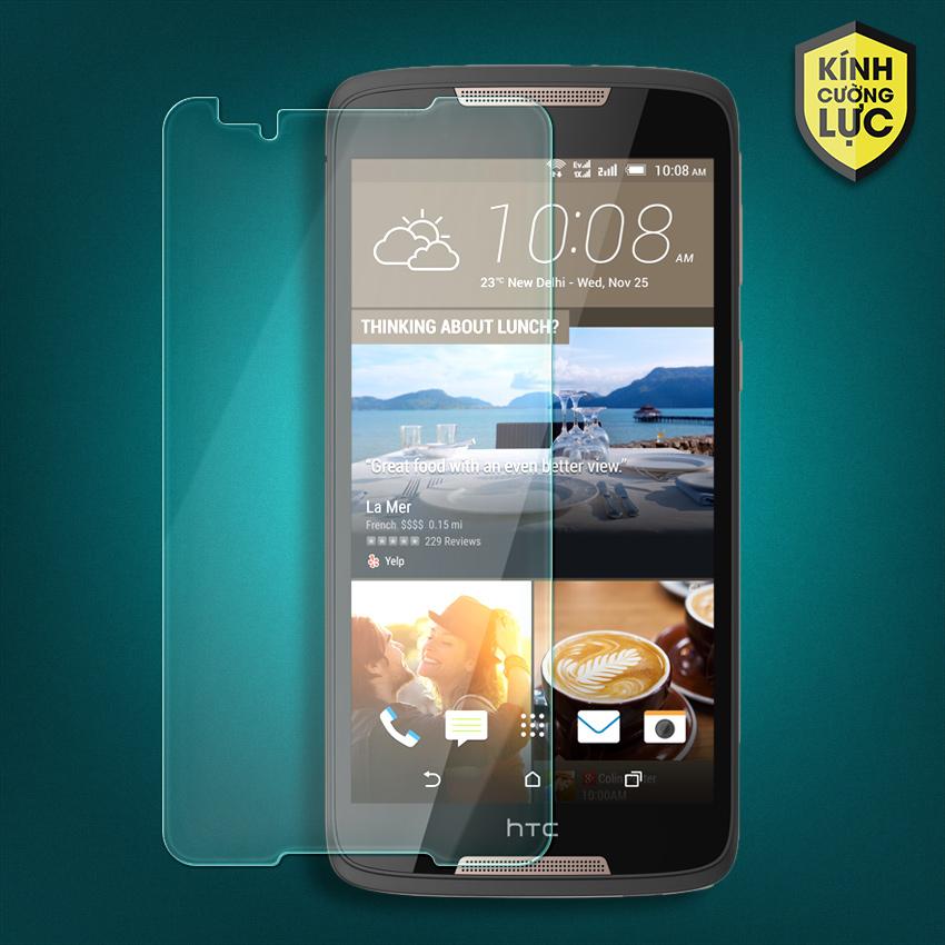 Miếng dán màn hình cường lực HTC Desire 828 (trong suốt)