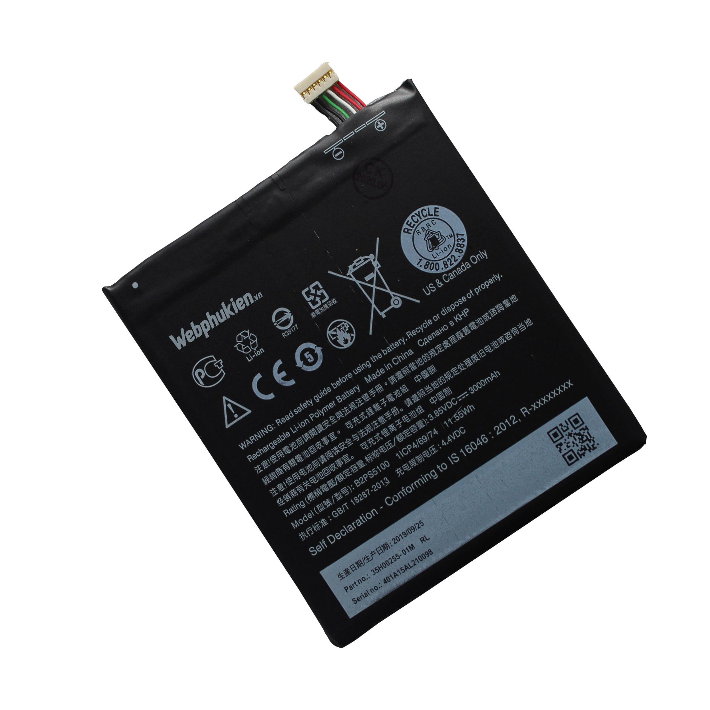 Pin HTC Desire 10 Pro B2PS5100 - 3000mAh