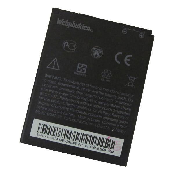 Pin HTC Desire 600 Dual Sim 606W (BO47100/ BM60100) - 1860mAh Original Battery
