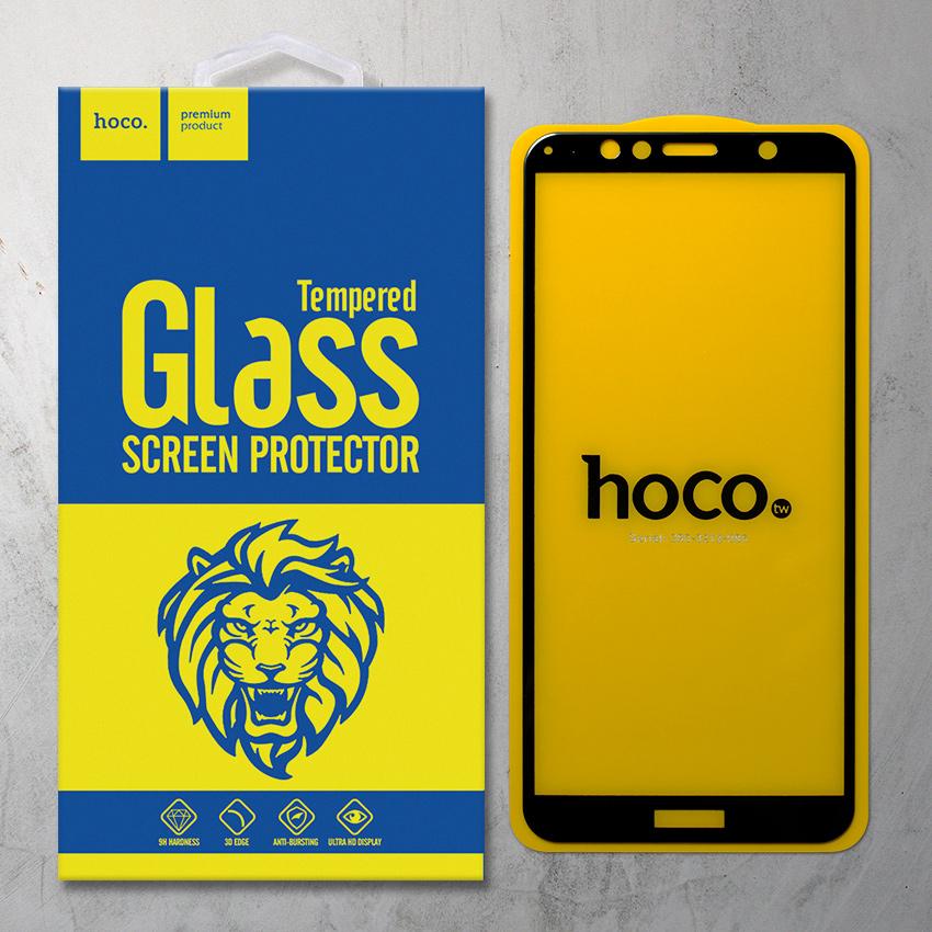Miếng dán cường lực Huawei Honor 7A hiệu HOCO Full màn hình (Đen)