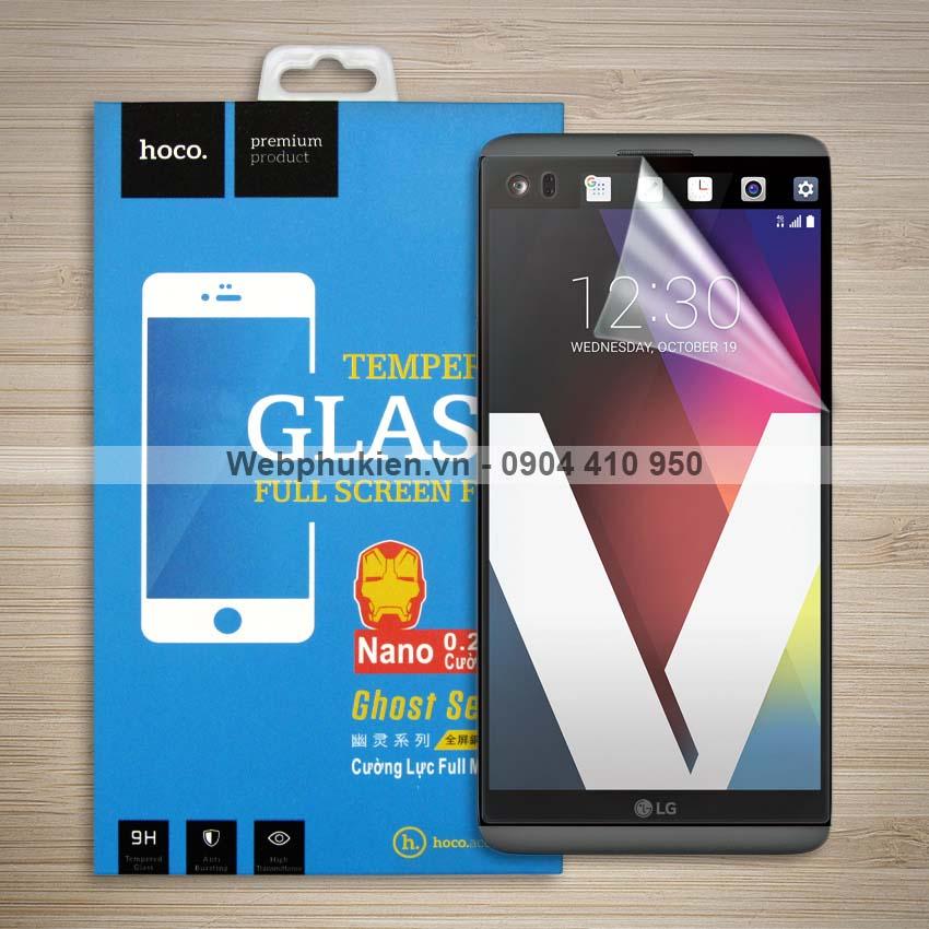 Miếng dán màn hình LG V20 hiệu Hoco Nano siêu dẻo