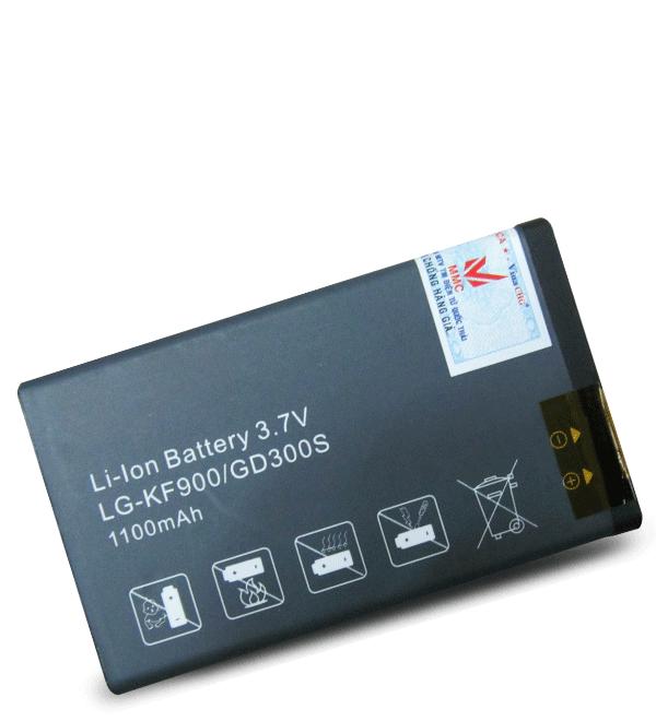 Pin LG KF900 - 1100mAh hiệu MMC