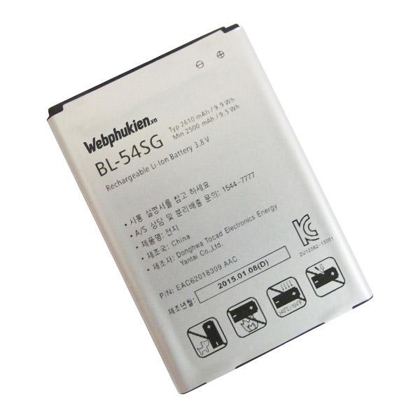 Pin LG Optimus VU3/F300 (BL-54SG) - 2610mAh Original Battery