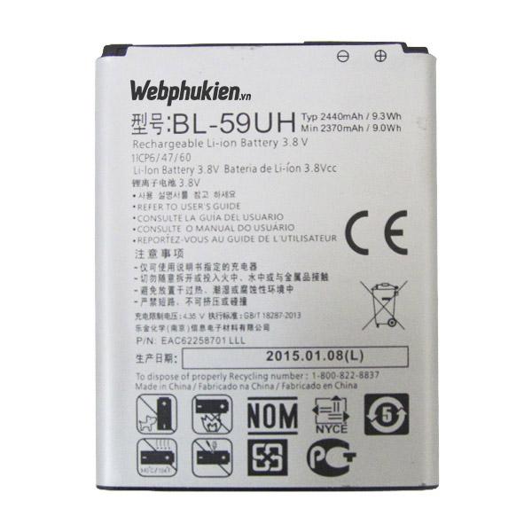 Pin LG G2 Mini/D620 (BL-59UH) - 2440mAh Original Battery