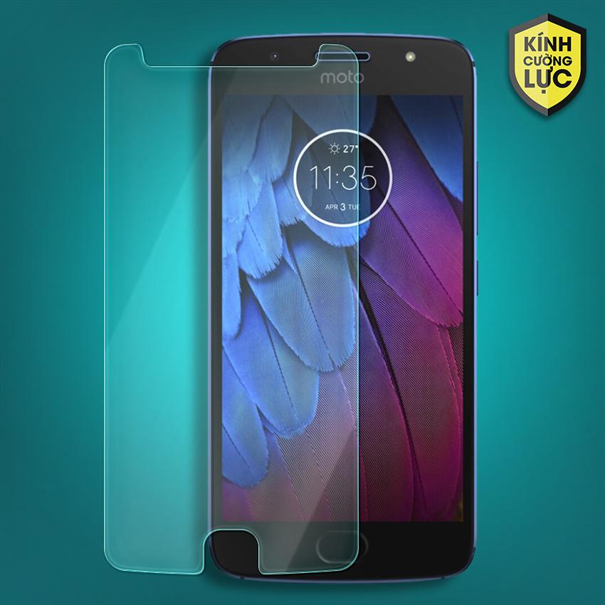 Miếng dán kính cường lực Motorola Moto G5S (trong suốt)