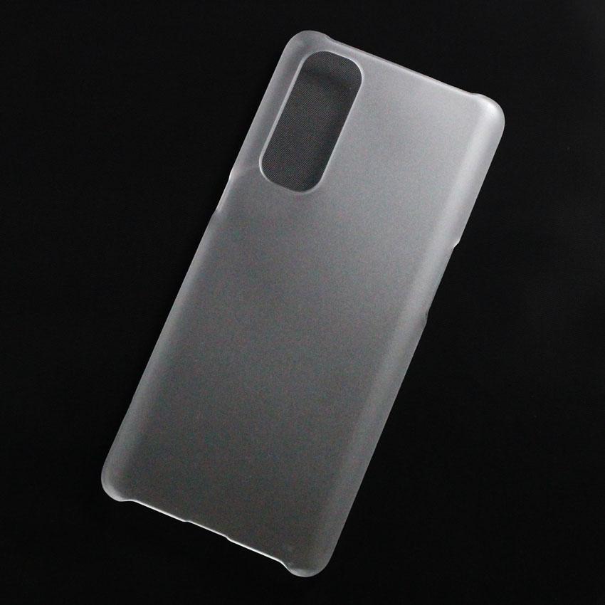 Ốp lưng nhựa cứng Oppo Reno 4 Pro nhám trong