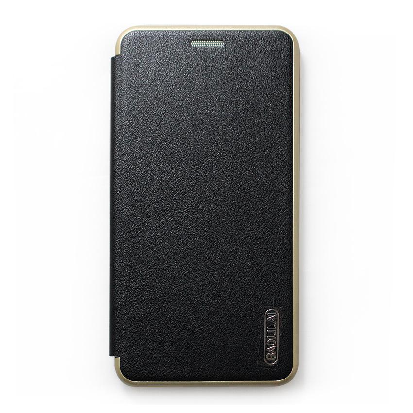 Bao da Samsung Galaxy J7 Plus hiệu BaoLiLai (Đen)