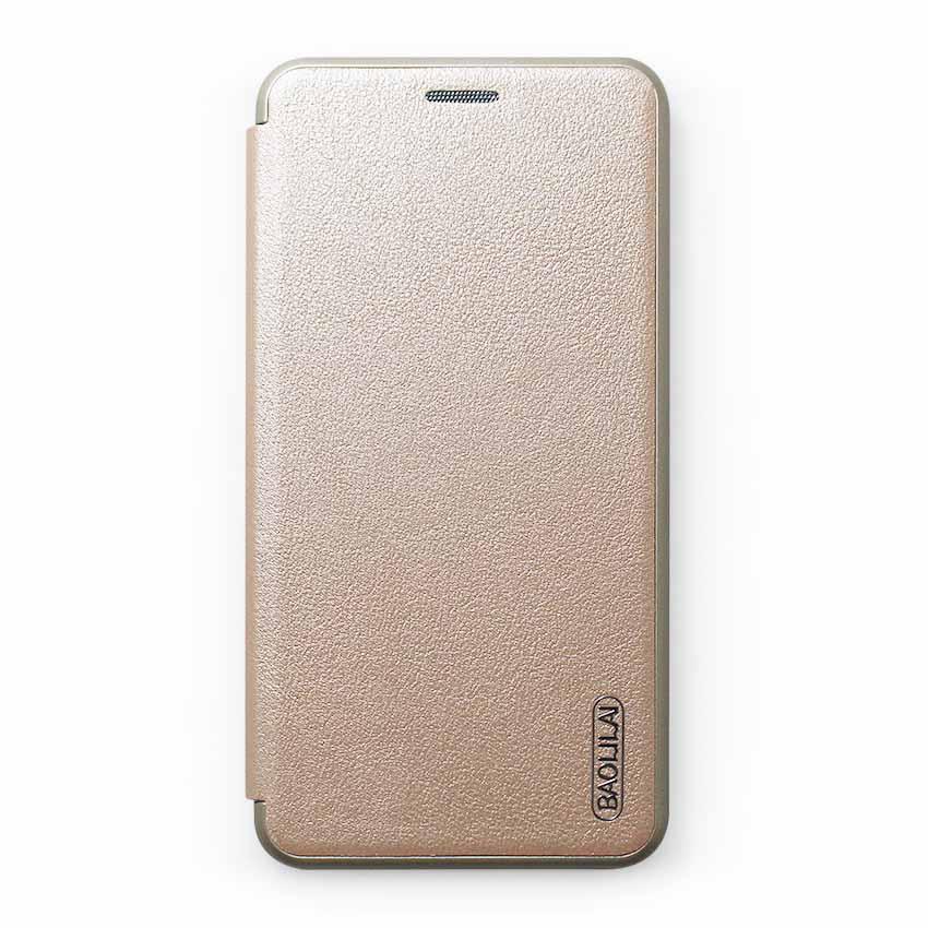 Bao da Samsung Galaxy J7 Plus hiệu BaoLiLai (Vàng)