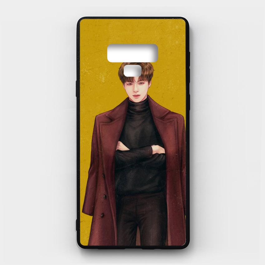 Ốp lưng kính in hình cho Samsung Galaxy Note 9 Valentine (mẫu 3) - Hàng chính hãng