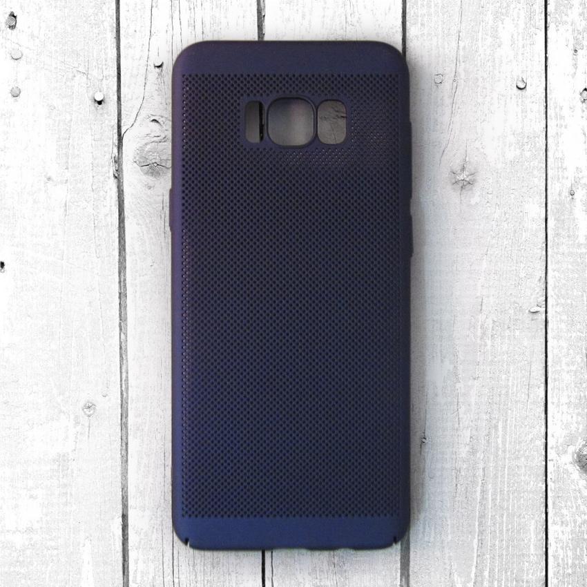 Ốp lưng lưới Samsung Galaxy S8 Plus chống nóng (Xanh)
