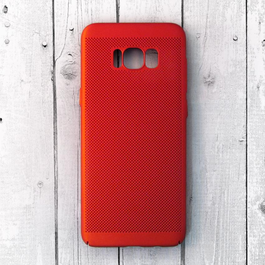 Ốp lưng lưới Samsung Galaxy S8 chống nóng (Đỏ)