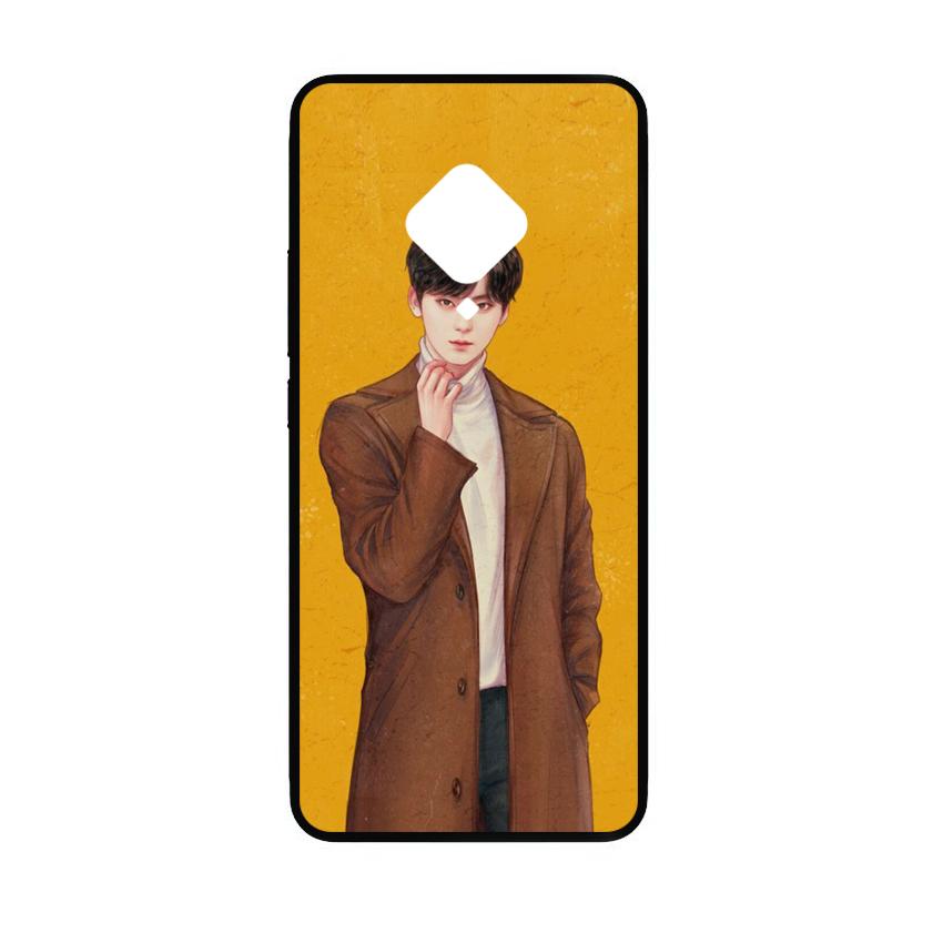 Ốp lưng kính in hình cho Vivo S5 hình valentine (mẫu 6) - Hàng chính hãng