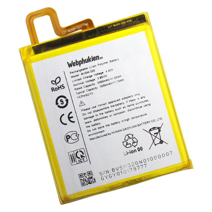 Pin Vsmart Star BVSM-320 dung lượng 3050mAh