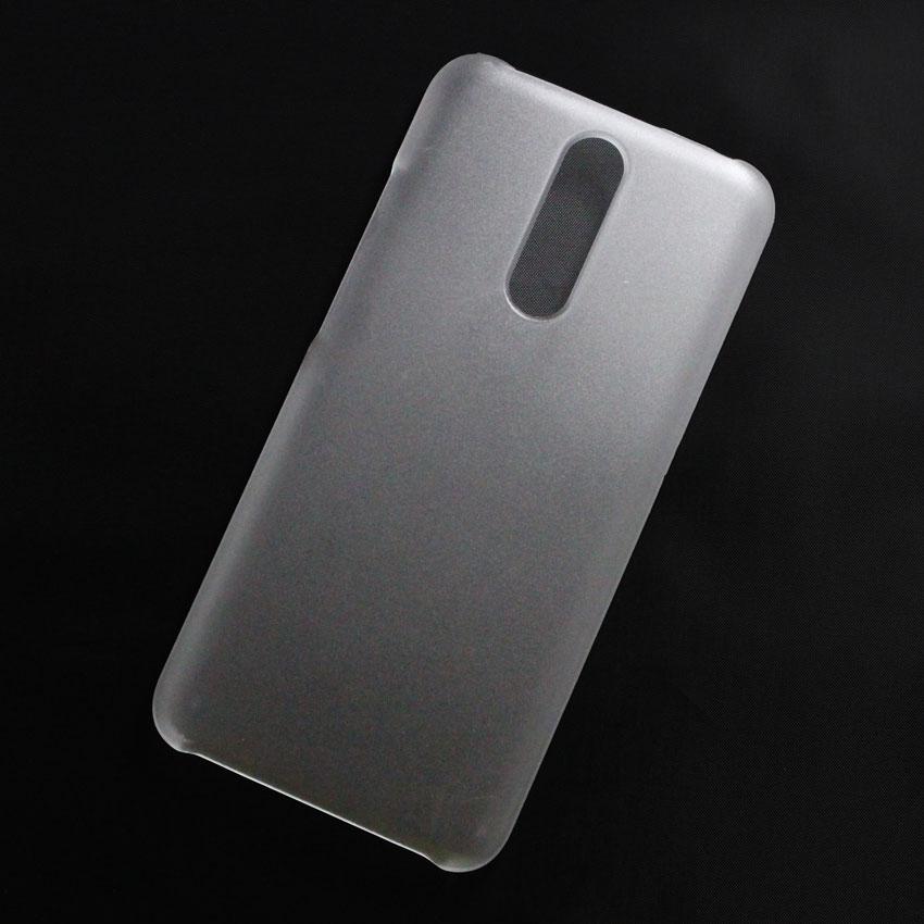 Ốp lưng nhựa cứng Xiaomi Redmi 8 nhám trong