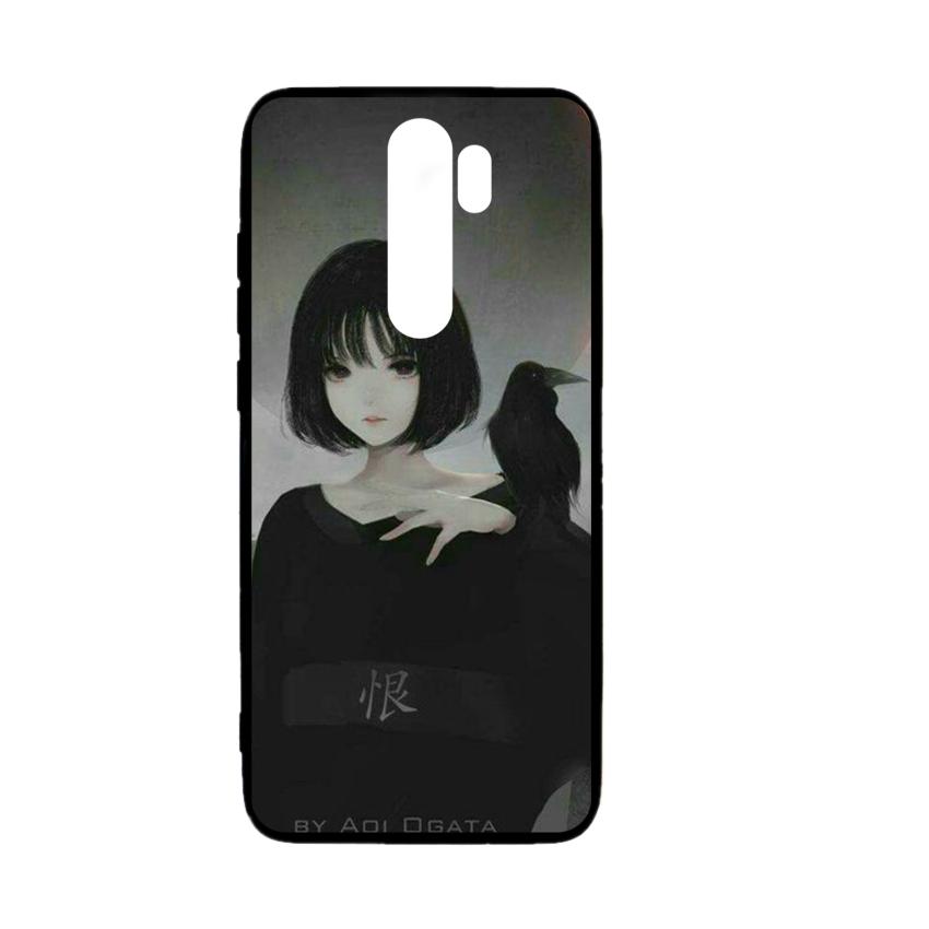 Ốp lưng kính in hình cho Xiaomi Redmi Note 8 Pro Valentine (mẫu 35) - Hàng chính hãng