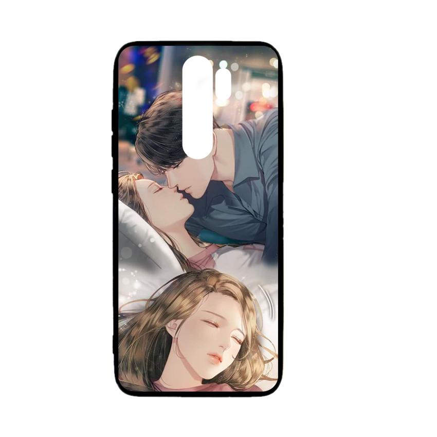 Ốp lưng kính in hình cho Xiaomi Redmi Note 8 Pro Valentine (mẫu 38) - Hàng chính hãng