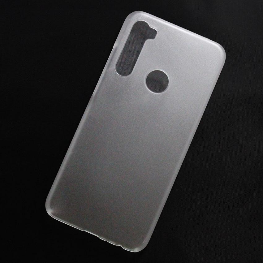 Ốp lưng nhựa cứng Xiaomi Redmi Note 8 nhám trong
